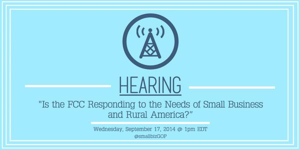 TOMORROW: We have #smallbiz & Rural America #Communication w/ @FCC Chairman Tom Wheeler http://t.co/zEw5PqnJFi #pjnet http://t.co/kMc9mgnt9Q