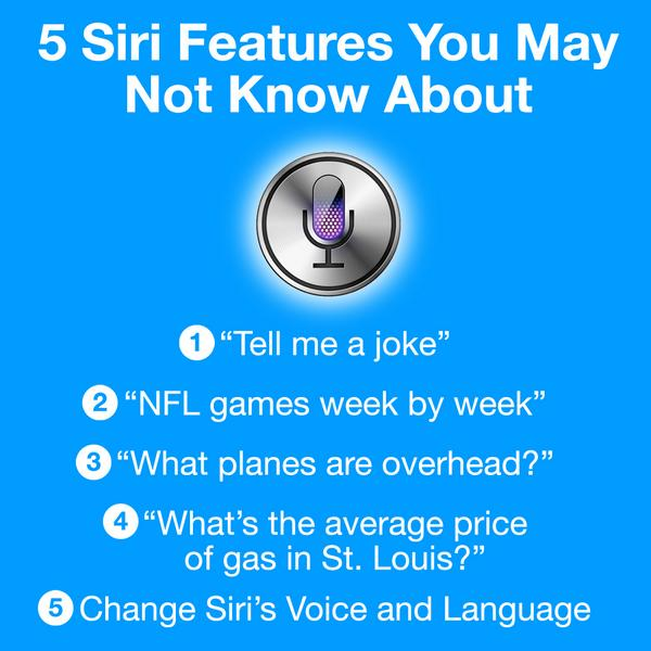 #TechTipTuesday  Learn 5 fun and useful tips using Siri on your iPhone!  http://t.co/bQ3t6cFjxb http://t.co/TL9Cfb8WNL