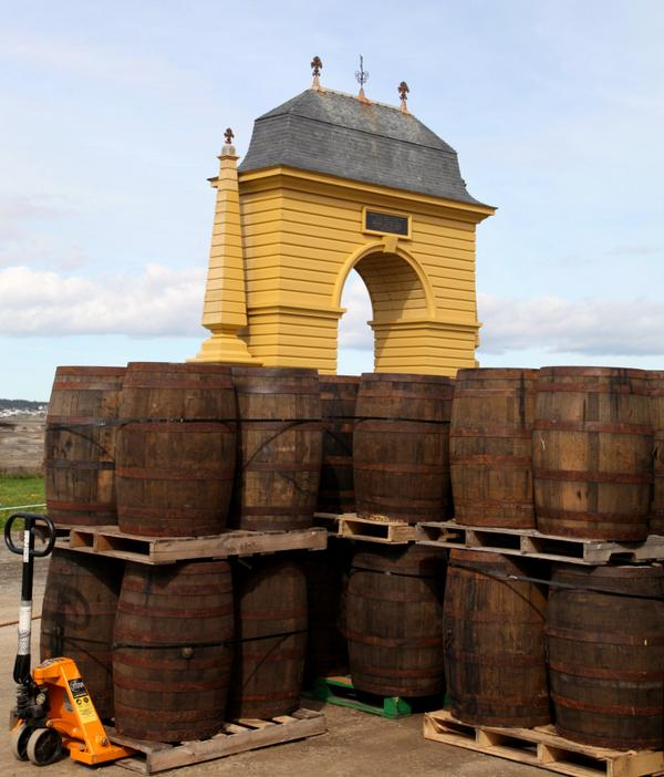 After 300 years, rum returned to the Fortress of Louisbourg today: http://t.co/1SGIk52wVP #NovaScotia http://t.co/yQyYuUwwsc