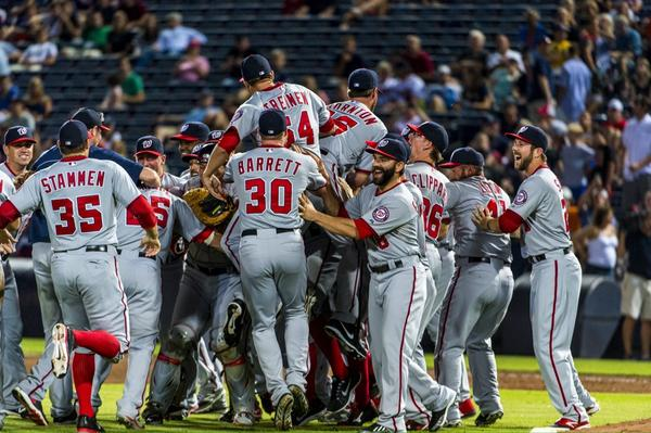 NL East Champions! http://t.co/MgvOWZR359