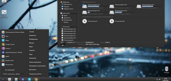 Тема для windows 7 в стиле mac os x