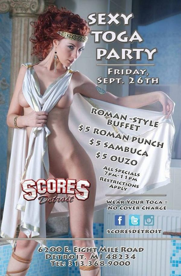 Toga pictures Adult party
