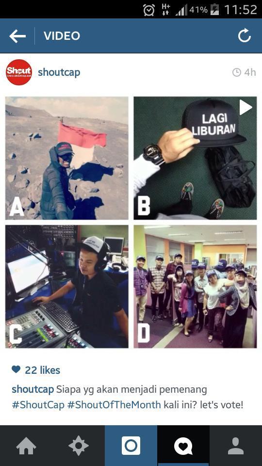 Yuuukkk yg punya account instagram bantu di vote buat tim @LawakKlubTrans7 ya di shoutcap shout of the month.. http://t.co/d44Fro5ow5
