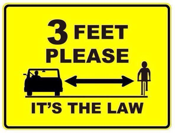 A great day in California, the 3ft law is official, everyone on bikes and in cars can share and enjoy the roads! http://t.co/4pOS3xIkFw