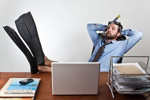 Sindrome post-vacanza nel tornare al lavoro dopo le vacanze