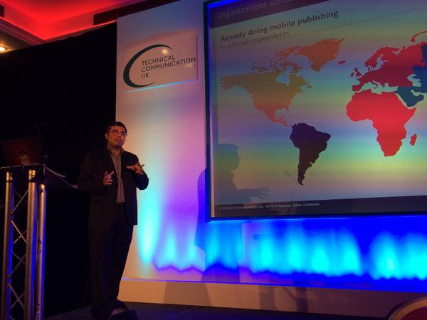 "#TCUK14 Adobe's Vikram Verma addresses ""Riding Mobile Bandwagon"" with compelling stats on global growth - #Robohelp http://t.co/Hc4jQb7Xnx"