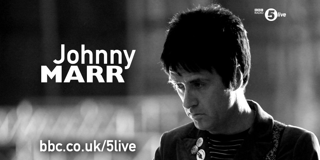 RT @bbc5live: .@Johnny_Marr speaking to @richardpbacon at 2:15pm today. Your questions welcome here... http://t.co/giqz2sWMzR