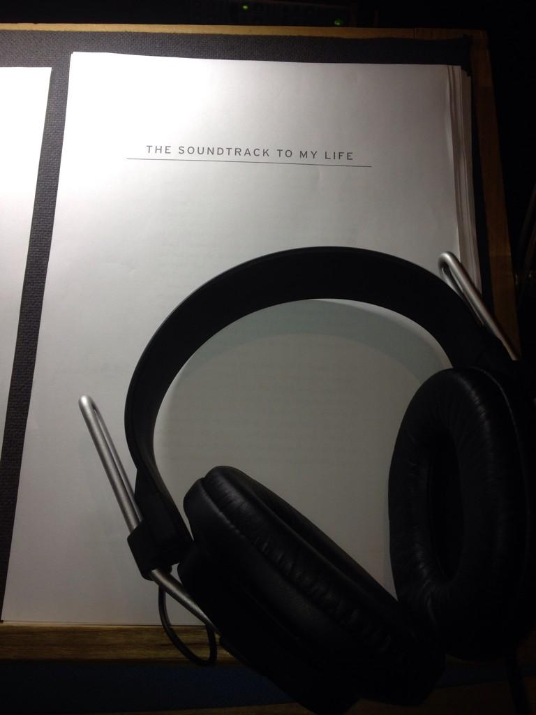 First day of audio book record. #flappytongue @HodderBooks http://t.co/2SXwu8emxN