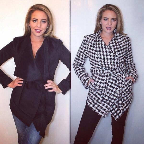 NEW COAT ALERT @BellaSorella251 😘  Available in Sizes 8-14  Shop them here>> http://t.co/Kuvq2RYbBS http://t.co/JE8ioBnqjT