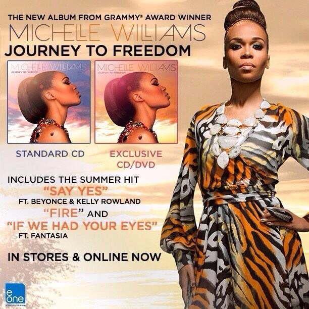 Woke up this morning to the beautiful sounds of @RealMichelleW... http://t.co/lR1wVj68Hk