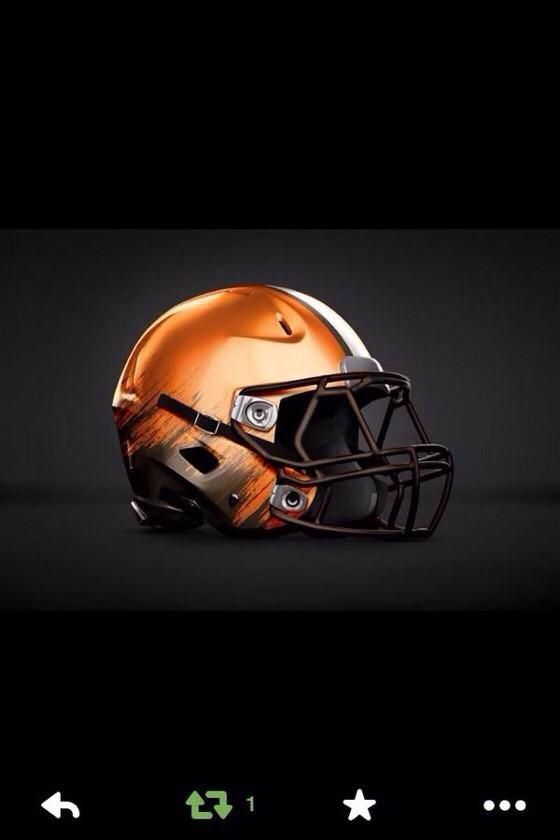Hey now!  New Browns helmet? Like it? http://t.co/2Ob9IvtZeQ