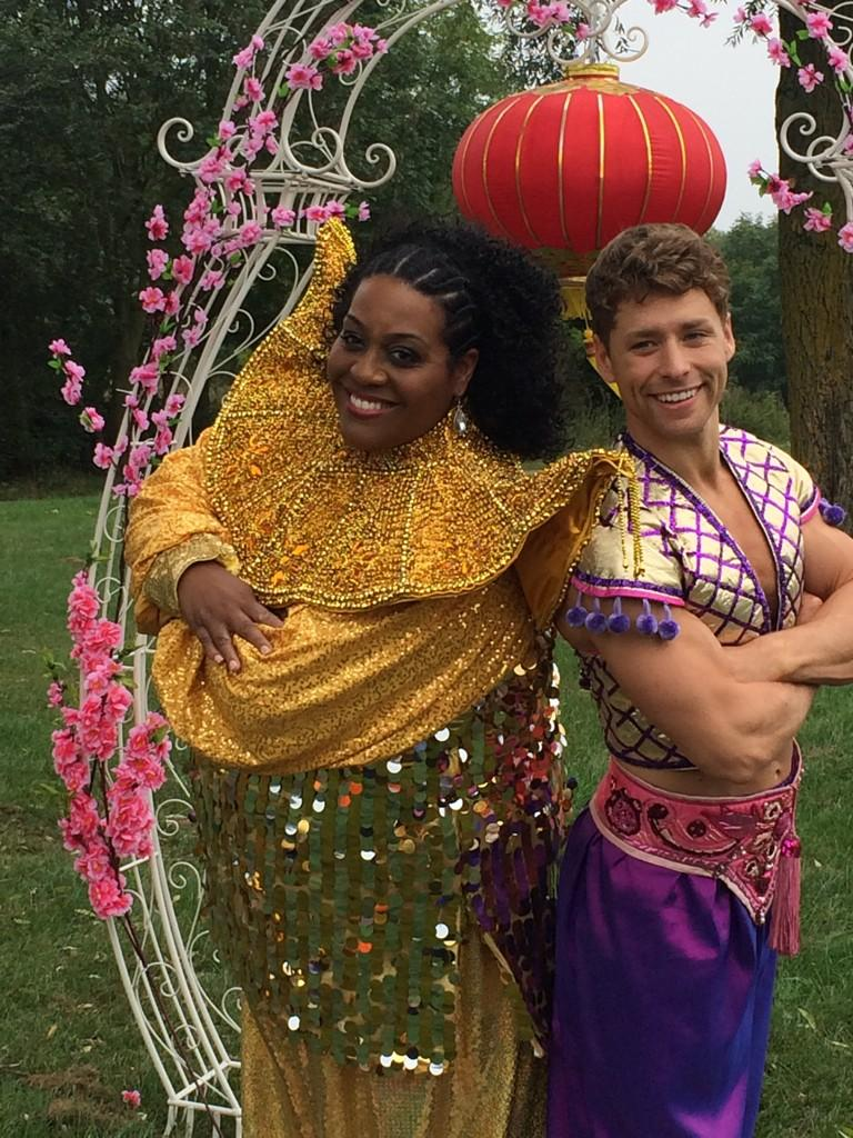 RT @TheCresset: Fantastic #panto launch this morning! @AlisonHammond2 and @mitchhewer1 getting into the spirit! http://t.co/eapdVqd8f8
