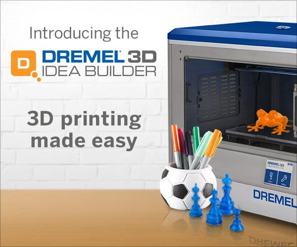 Introducing the #Dremel 3D Idea Builder, the most user-friendly 3D printing experience on the market. http://t.co/nrPJyHyuCo