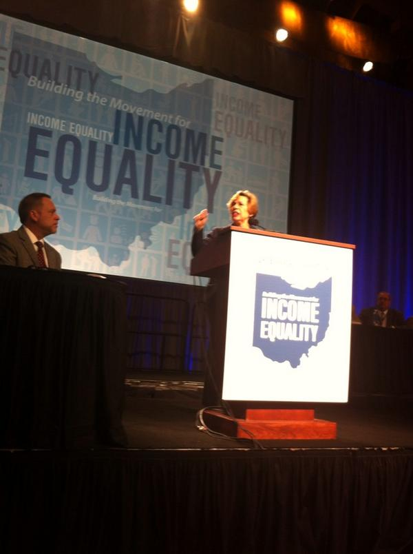 Big Labor millionaires lead 'income equality' convention