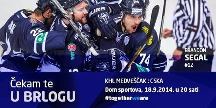 Let's fill the bears den tomorrow.  Best fans in hockey.  #medvescak #zagreb http://t.co/a2Yjp4blES