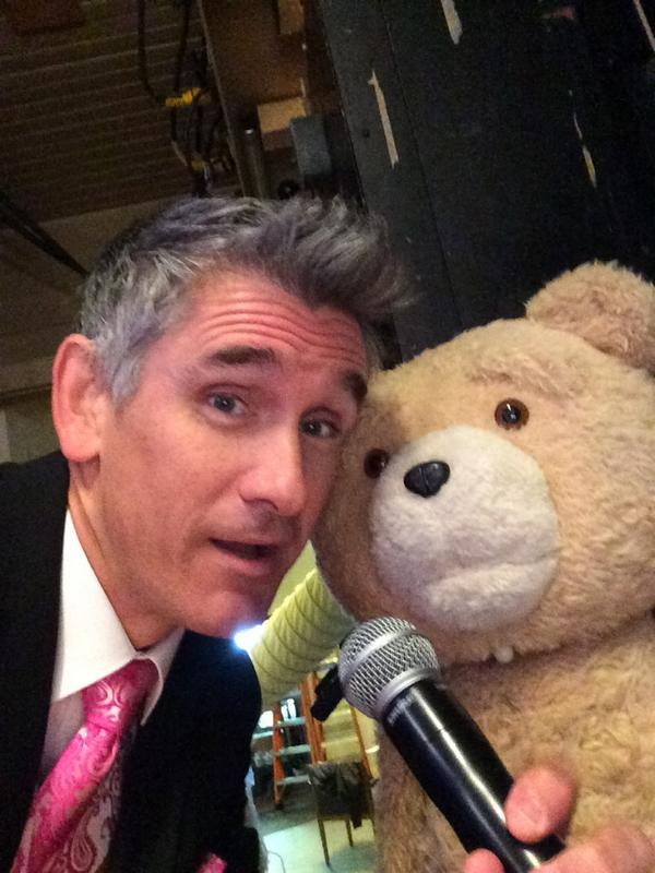 "Curtis Stigers on Twitter: ""Rehearsing for our big duet. #ted2 ..."