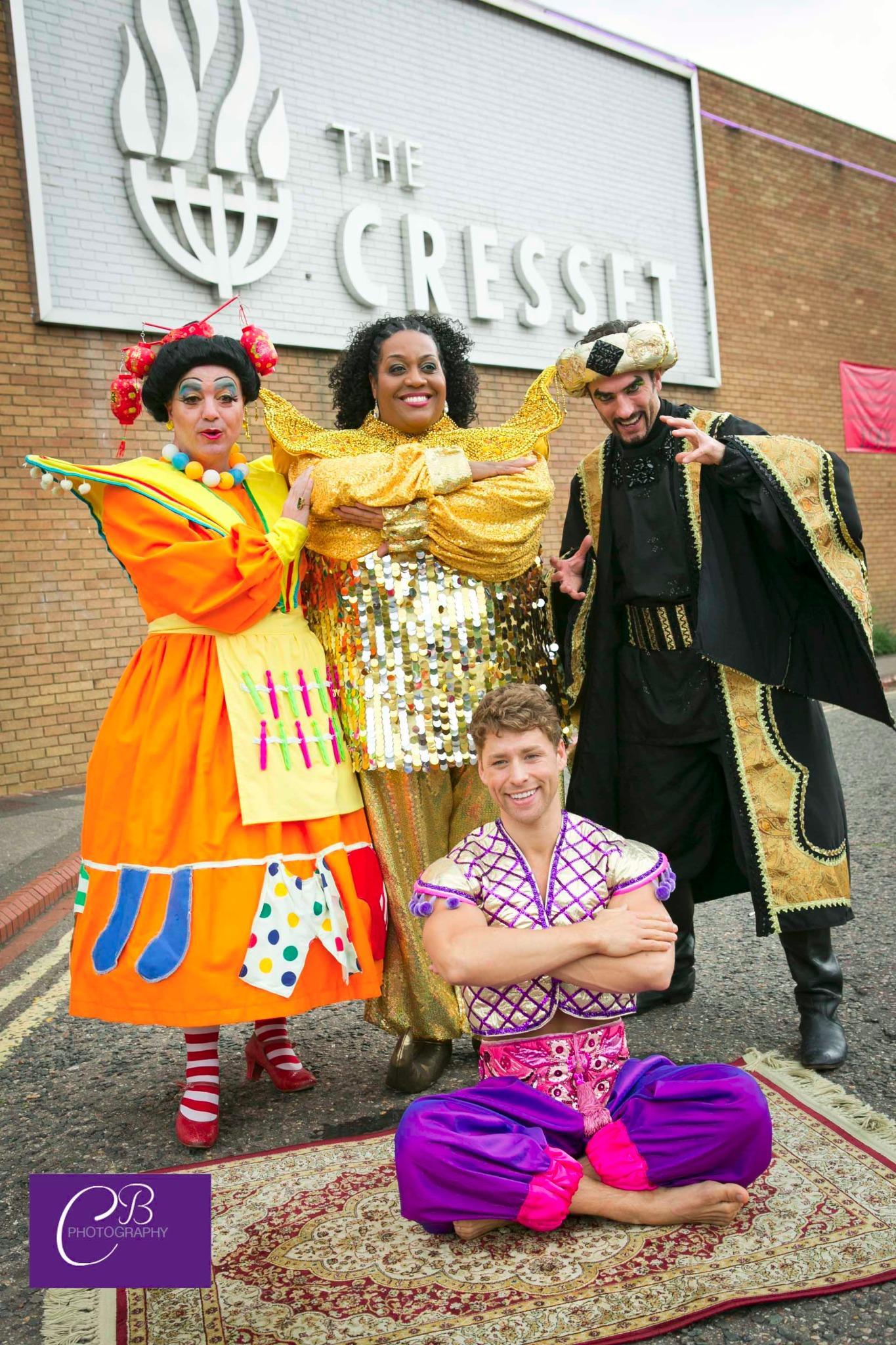 RT @CBrudenell: Great promo shoot at the cresset this morning @AlisonHammond2 @TheCresset http://t.co/k25nG2CDKv