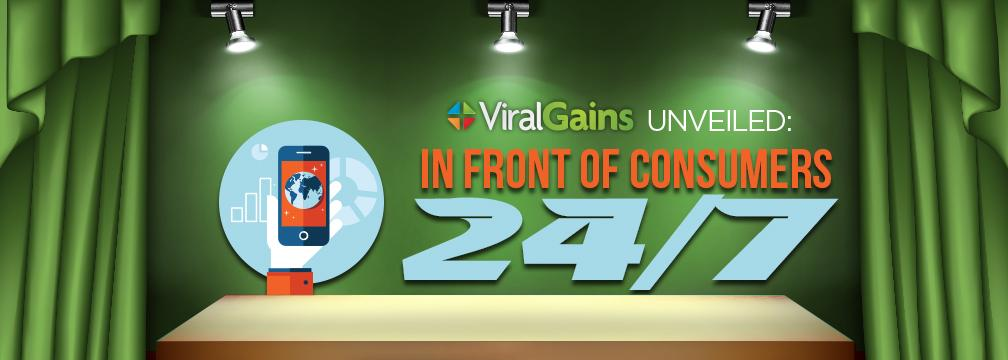 ViralGains Unveiled: In Front of Consumers 24/7 [Video]  #Engagement #Mobile #ViralVideo  http://t.co/MR0p3EMiW4 http://t.co/8Icjtt6t9C