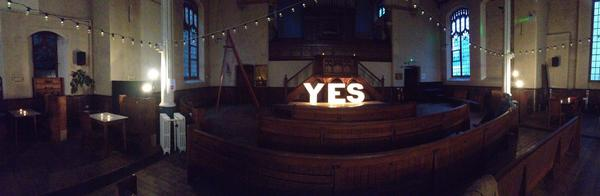 Arrived at 'the church of fail' for #LGR2014 stunning venue #brighton http://t.co/JoyB06c1Ow