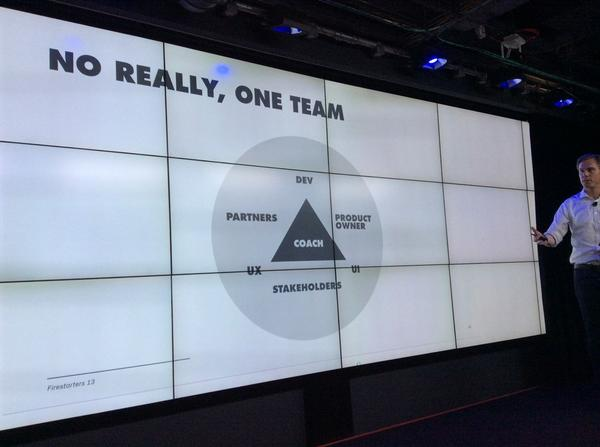 #firestarters the new optimum agency team structure for product design? http://t.co/1i4KVktP9b