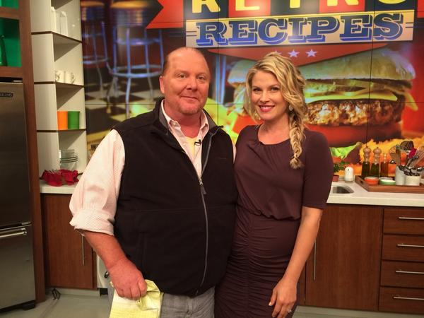Loved being on @thechew cooking with sweetheart @mariobatali today! My Stilton dip recipe at http://t.co/ZXneKb5Og9 http://t.co/glwWtpnOiy