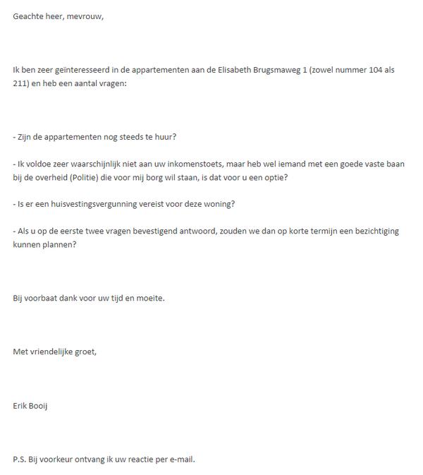 """WOW """"@rbeltman: """"@ErikBooij: Dit is mailwisseling die ik had met makelaar Meijer in Den Haag. leuk bedrijf hoor. http://t.co/MKxnJOmkH7"""""""""""