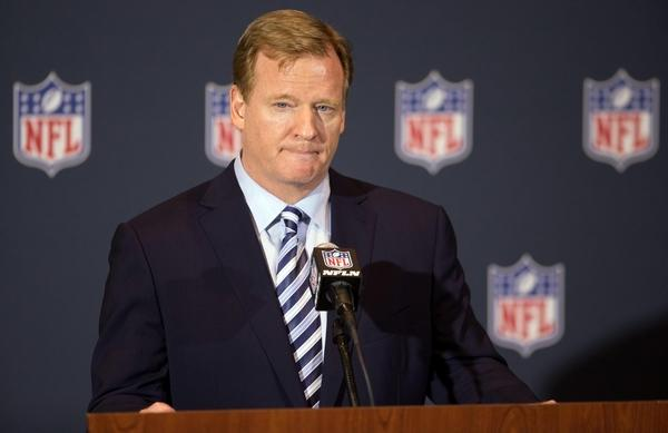 Roger Goodell is a businessman first, commissioner second. (@VICESports/Twitter)