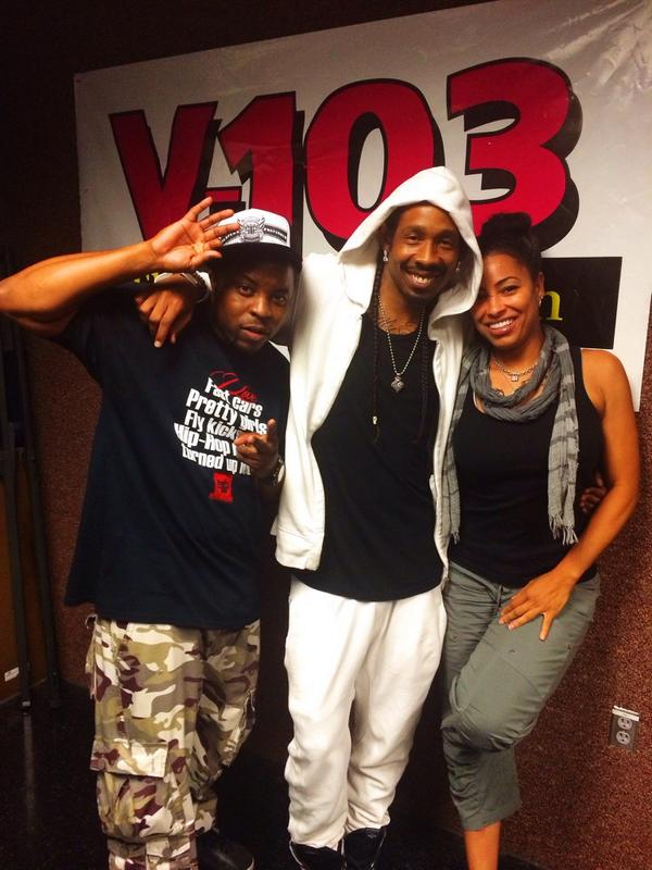 Kickin It Wit @Flytythehypeman N @shanaehall1 At @V103Atlanta ...Zagga!!! http://t.co/hiHzNVEexM