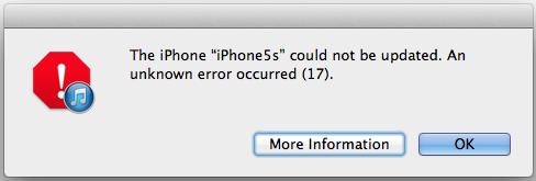 iOS8アップデートに失敗し、iPhone5sが文鎮になってしまった http://t.co/hQToiFbbAz この手順を試してもリストアもできない http://t.co/SezlZeXzLP