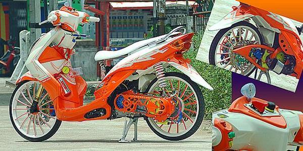 motor thailook style terkeren