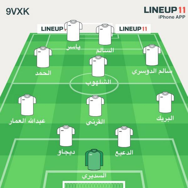 Abdullah Alharthi On Twitter افضل تشكيلة لـ الهلال غدا امام الخليج 4 4 2 الي يوافقني ريتويت الي ضد التشكيلة مفضله Http T Co Ht2dtrzv6n