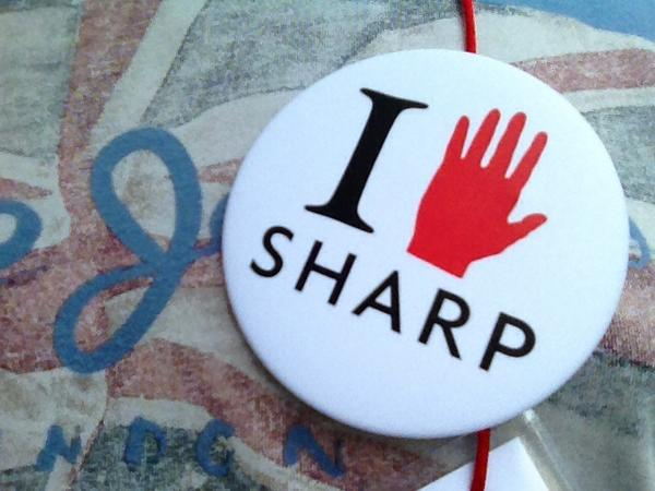 Looking #SHARP! ;) If you see me, and you need directions or anything, just ask! I'm here to help. #sharp2014 http://t.co/Dy43vbIfWl