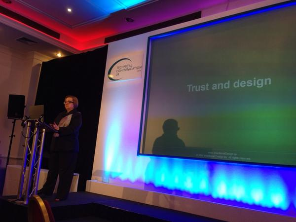 Do we inspire trust in all aspects of the customer experience for our content consumers? @rahelab #tcuk14 http://t.co/QtBJrkOBq9