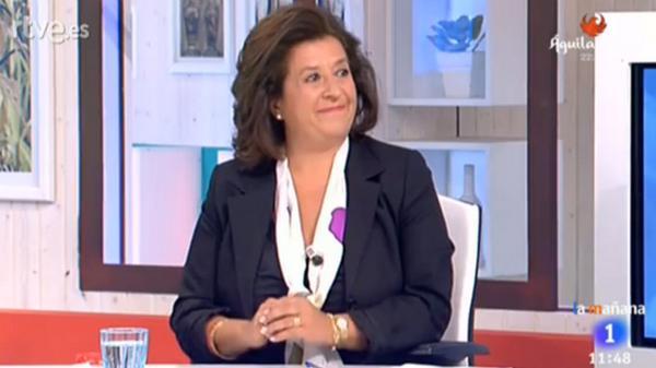 Ahora mismo, en directo, la doctora Juana Morillas, profesora de la UCAM, en @LaMananaTVE http://t.co/a9lZgpDcc8 http://t.co/DFmORcivM1