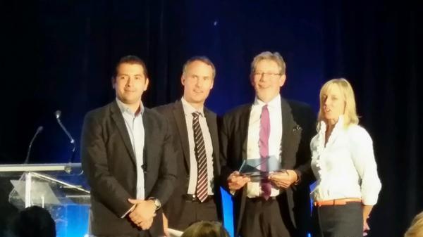 Angel of the Year Award: Yuri Navarro, Jérôme Nycz, Randall Howard, Michelle Scarborough