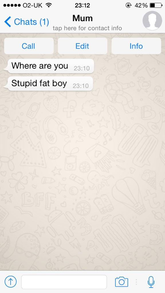 First time my mum has sent a message http://t.co/JpKuaYUngO