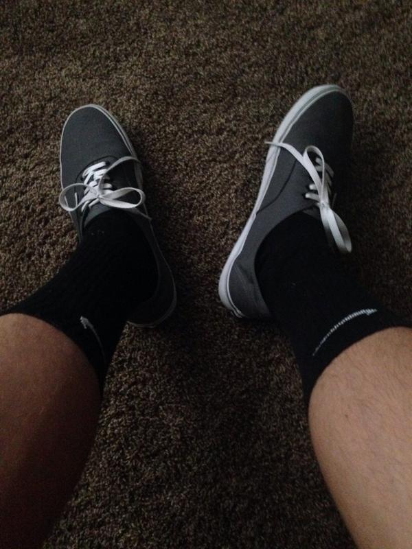 vans and nike socks