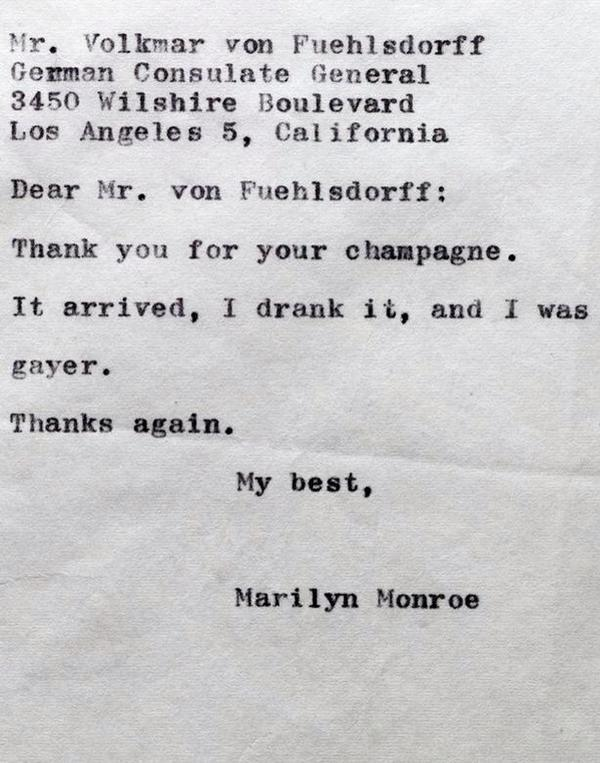Nein On Twitter Probably The Best Letter Ever Written Via