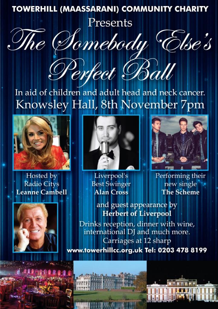 RT @TOWERHILLCC: @NolanColeen could you help by retweeting our Charity Ball at @KnowsleyHall #kids&adultsCancer 8th Nov 2014 xx http://t.co…