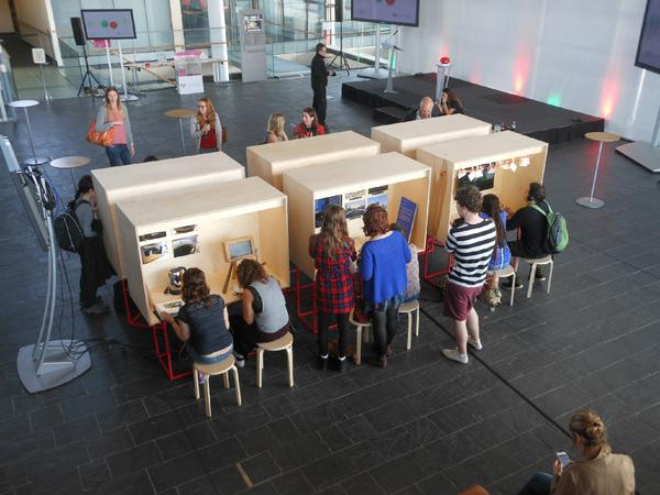 Busy today at #asenseofenergy exhibition at @AssemblyWales - launch reception tomorrow at 12, EnergyCafe at 13.15 http://t.co/nQnpADO4XP