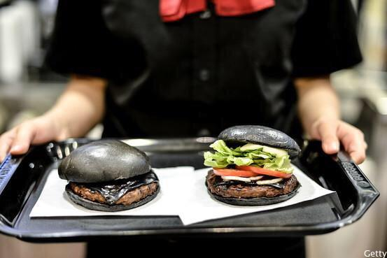 These are real burgers at Burger King in Japan.