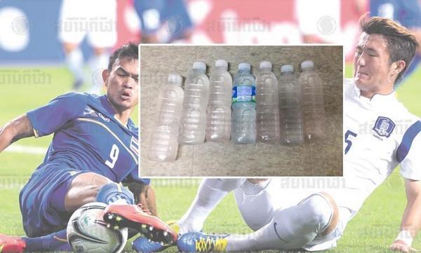 ช็อคทั้งบาง! ณฐกร ฉิมพาลี เลขาทีมไทยเผยเจ้าภาพเกาหลีใต้ใส่สารปนเปื้อนน้ำดื่ม คาดทำร่างกายอ่อนแรง #bkknews Cr.สยามกีฬา http://t.co/CBrOy3DKyd
