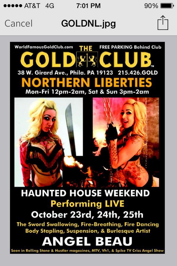 The Gold Club Philadelphia Pa