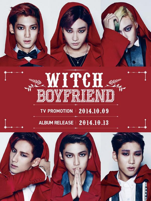 "BOYFRIEND 3rd Mini Album ""WITCH"" CONCEPT PHOTO #보이프렌드 #WITCH http://t.co/vdDK9AlNyl"