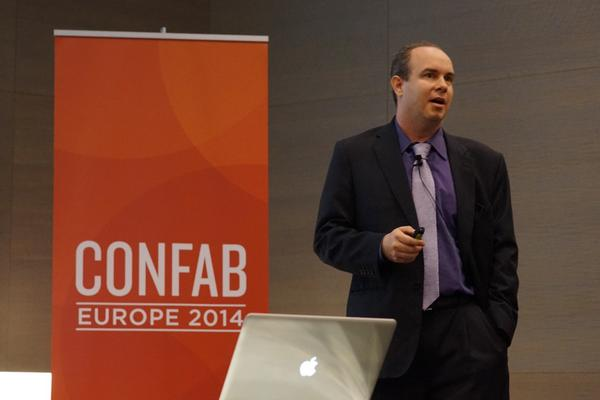 RT @ConfabEvents Christopher Strebel and Tizzy Asher, live on the two #ConfabEU stages: http://t.co/yW454LfzdA @c_strebel