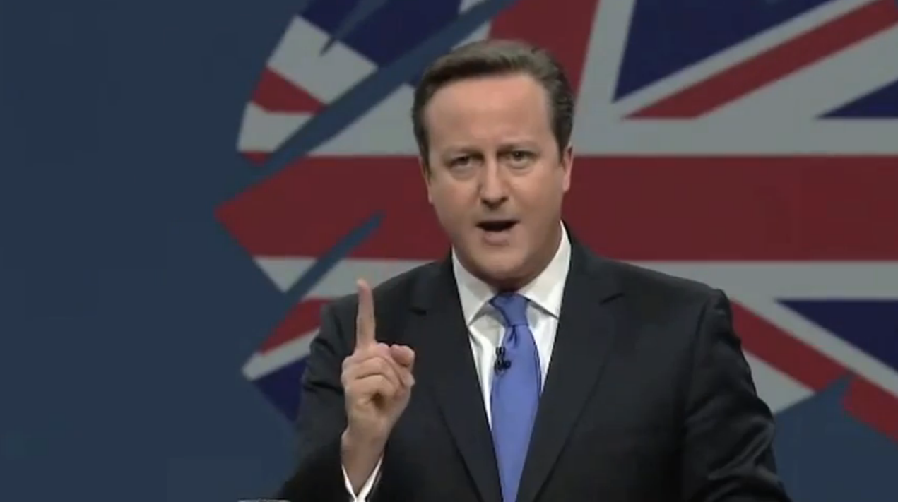 RT @HuffPostUKCom: We do hope David Cameron's conference speech goes like this today... http://t.co/JsMzp8tqlO http://t.co/ssB3dbjvnQ