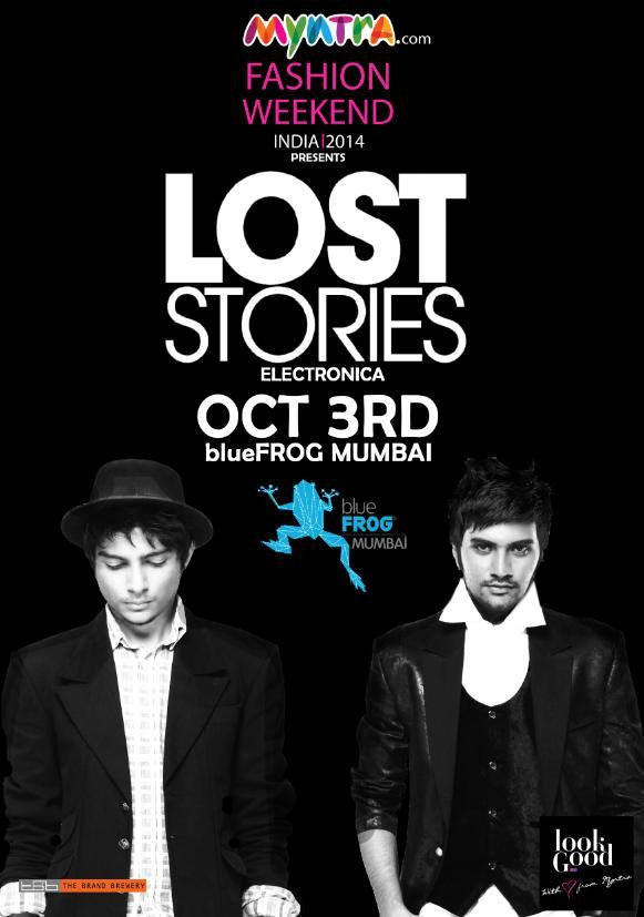 GIG ALERT : Lost Stories at @theblueFROG #Mumbai on 3rd Oct! http://t.co/BlIM2ZJaJz