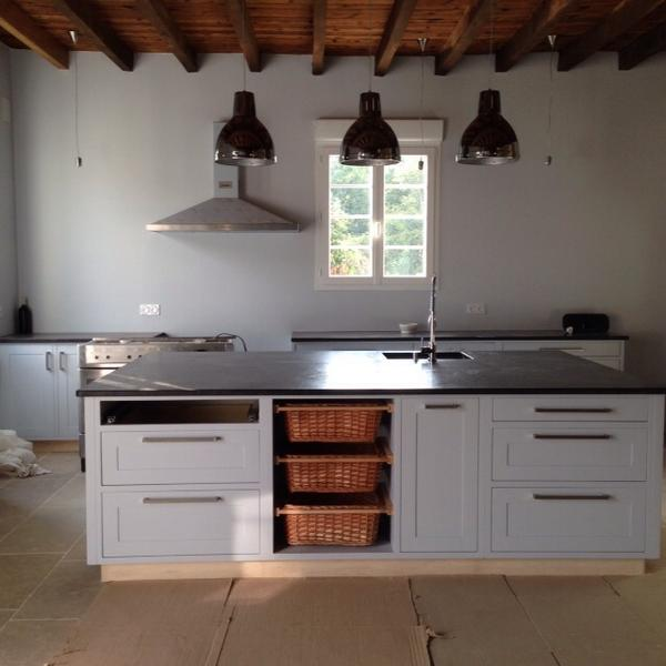 Manoir Vieille Douve On Twitter Our New Kitchen Painted In