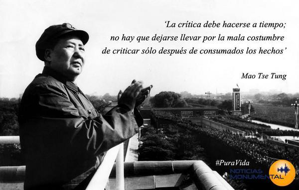 Noticias Monumental على تويتر La Frase Puravida Es De Mao