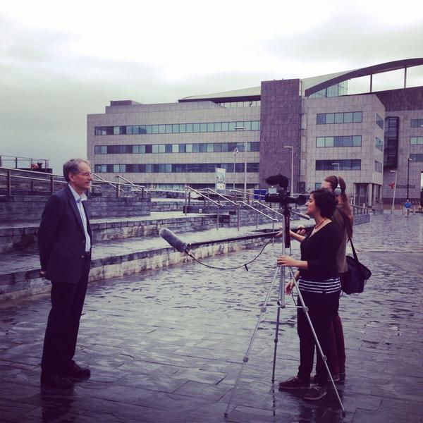 Filming Nick Pidgeon at #asenseofenergy @AssemblyWales with @AcouChristo http://t.co/VIYySA3aoU